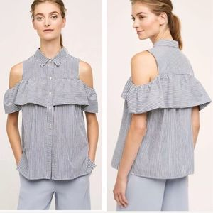 Sunday In Brooklyn Cold Shoulder Top Large
